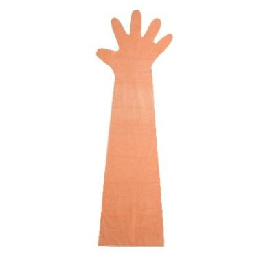Handschuhe 90cm Softfolie orange